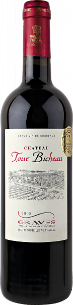 Chateau Tour Bicheau Rouge Graves AOP, 0.75л