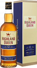 Виски Highland Queen 12 yo Blended Scotch Whisky<label>, 0.7л</label>